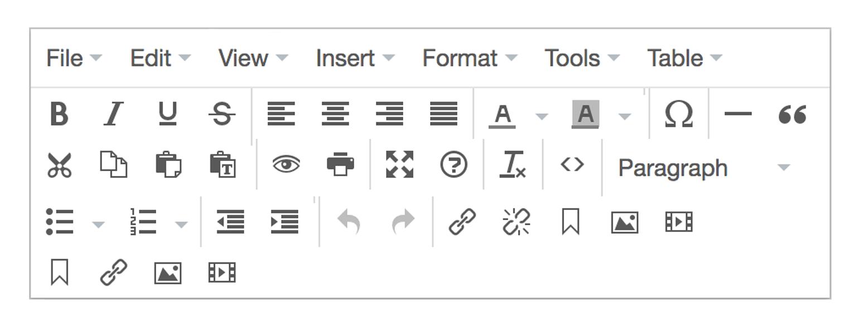 Yabsta Format TinyMCE